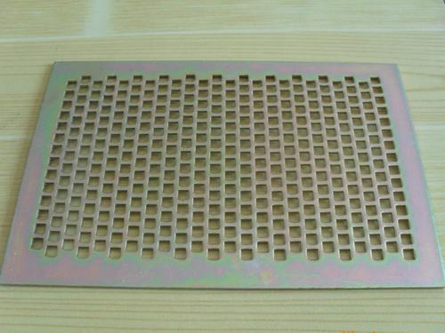 圆孔钢板冲孔筛网