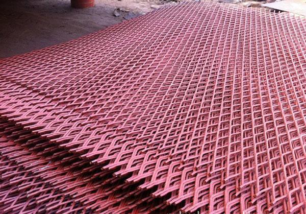 重型钢板冲孔筛网