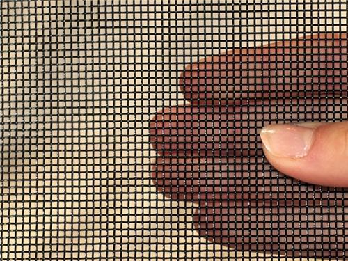 微型钢板冲孔筛网